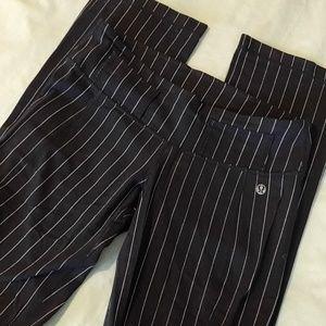 Tall Lululemon Pinstripe Groove Pants